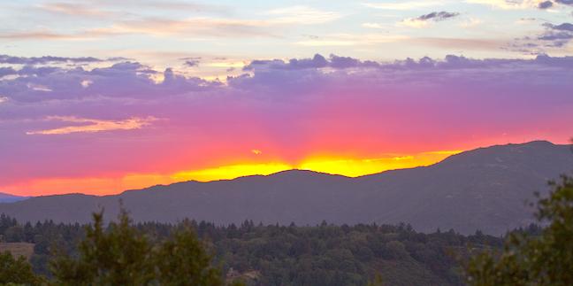 Cielo del Oeste, Santa Cruz Mountains, California Weather Conditions